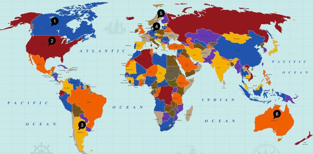 ข้อมูลการค้ารอบโลก ประจำเดือนพฤศจิกายน  2559