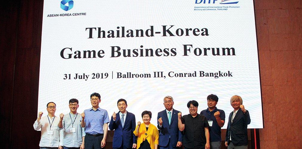 cover-DITP นำคณะบริษัทเกมเกาหลีร่วมแลกเปลี่ยนความเห็นกับบริษัทเกมไทย