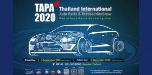 cover-TAPA 2020 – Thailand Auto Parts & Accessories 2020 @BITEC, 3 – 6 ธันวาคม 2563